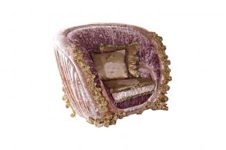 别墅蓝冠注册欧式精致雕刻单人沙发