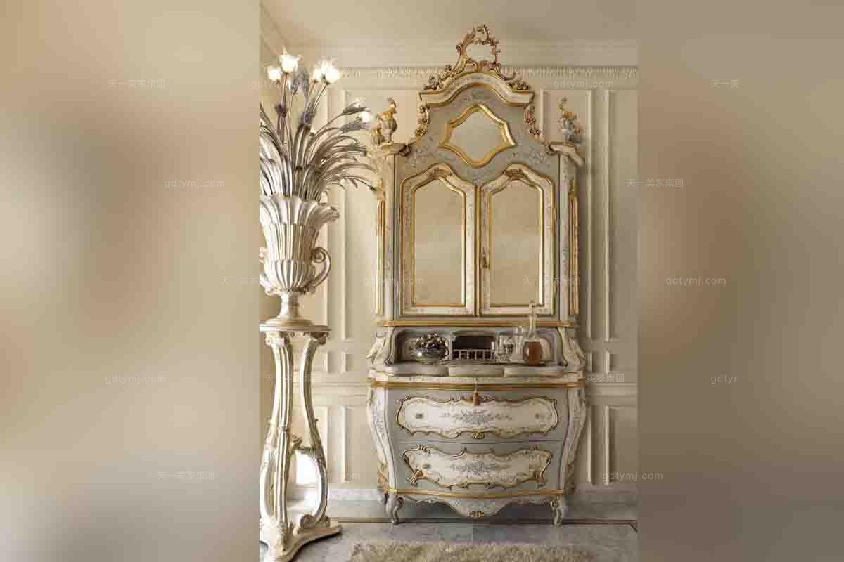 别墅蓝冠注册Andrea Fanfani 高端法式雕刻装饰柜