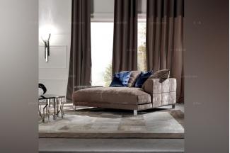 Longhix现代灰色布布艺沙发