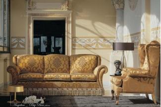 Pigoli 皮沟里花色布艺实木框架客厅系列