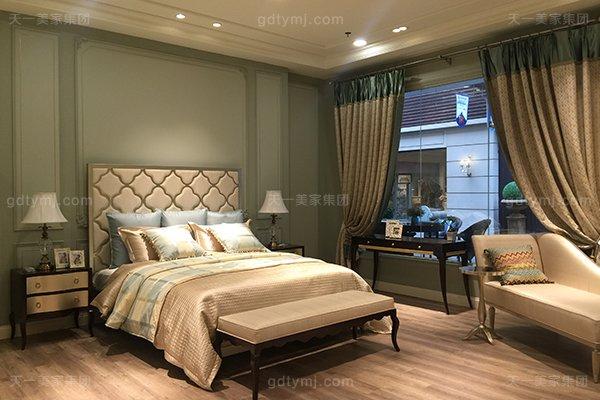 高端简美轻奢大床实木卧室双人床高端真皮舒适银色大床组合