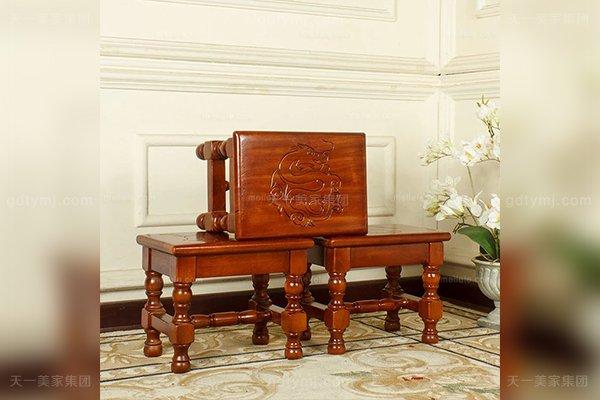 别墅豪宅蓝冠注册品牌高端好实木十二生肖小板凳