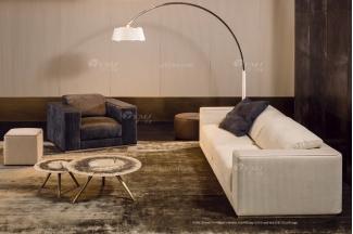 时尚轻奢蓝冠注册品牌意大利100%纯进口别墅蓝冠注册客厅真皮沙发