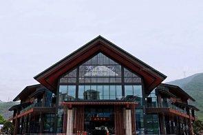 时尚新中式轻奢售楼处&样板间蓝冠注册、软装饰品--重庆山水华府项目蓝冠注册完美