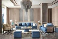 后现代轻奢蓝冠注册风格,为你诠释什么是低调的奢华感!